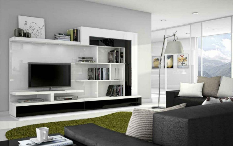 decoracion de interiores salones blancos